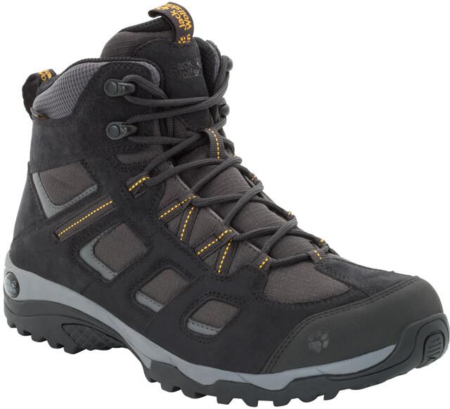 Vojo Hike Texapore Shoes Mid Men 2 Phantom Jack Wolfskin bg6yYf7